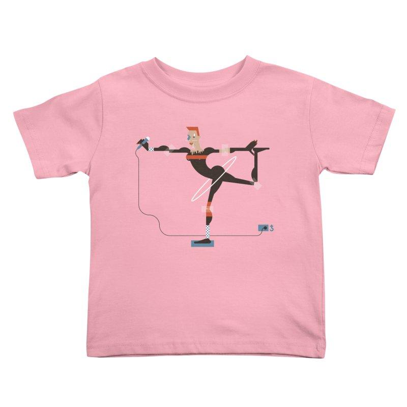 Grace Kids Toddler T-Shirt by Zhion T-Shop