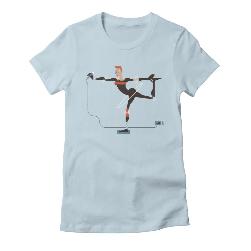 Grace Women's Fitted T-Shirt by Zhion T-Shop