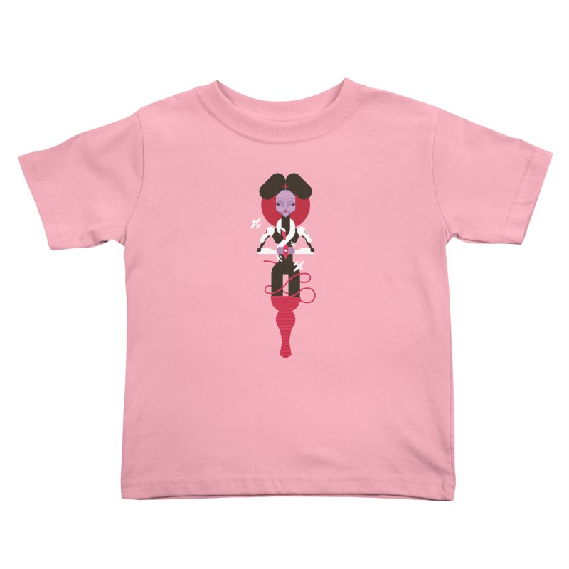 All is full of Her Kids Toddler T-Shirt by Zhion T-Shop