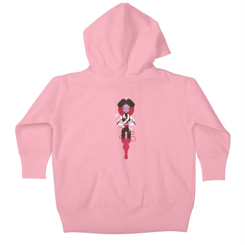 All is full of Her Kids Baby Zip-Up Hoody by Zhion T-Shop