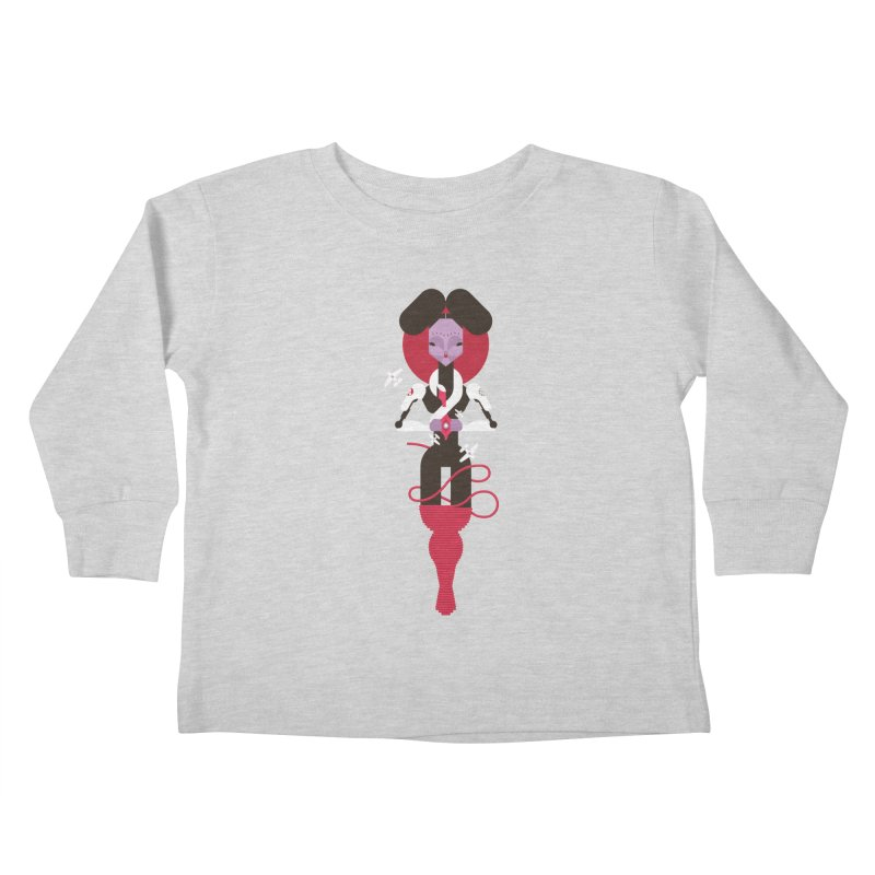 All is full of Her Kids Toddler Longsleeve T-Shirt by Zhion T-Shop