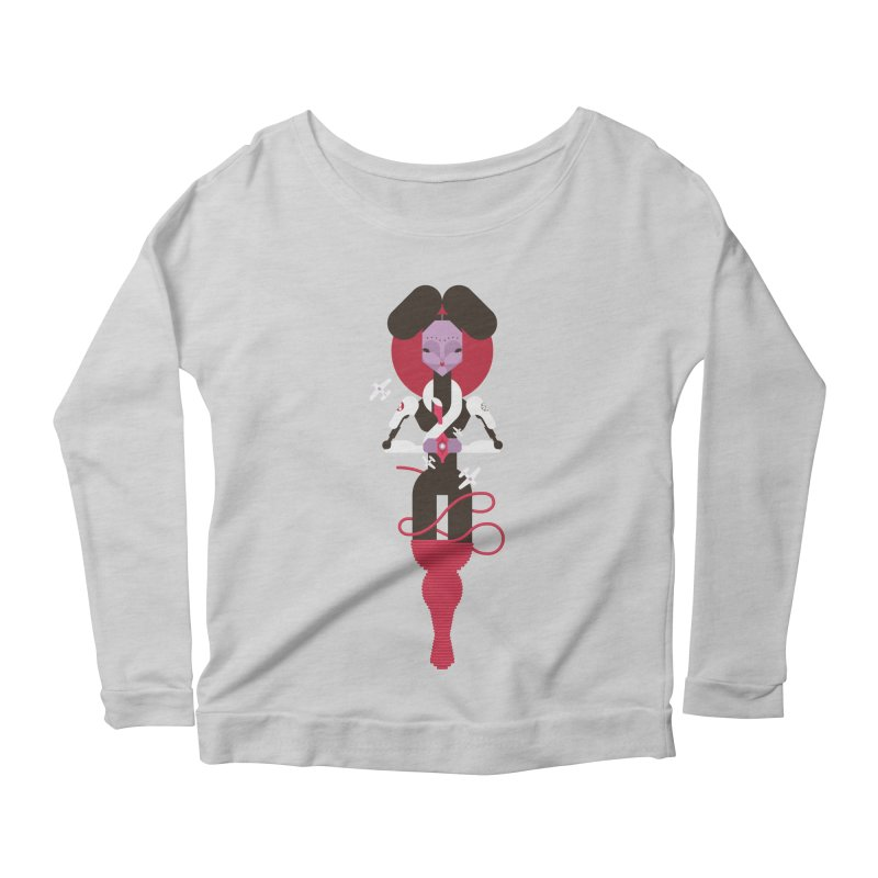 All is full of Her Women's Longsleeve Scoopneck  by Zhion T-Shop
