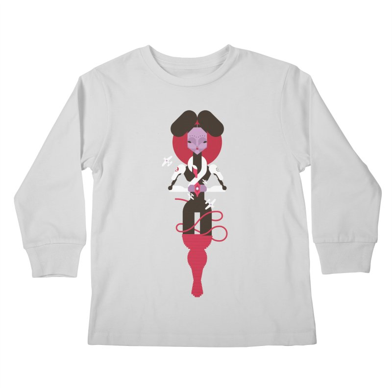 All is full of Her Kids Longsleeve T-Shirt by Zhion T-Shop