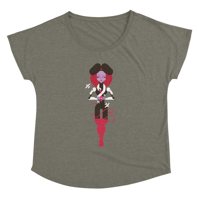 All is full of Her Women's Scoop Neck by Zhion T-Shop