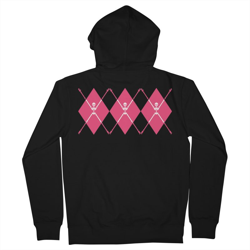 XXX-Ray - Pink Men's Zip-Up Hoody by Zhion T-Shop