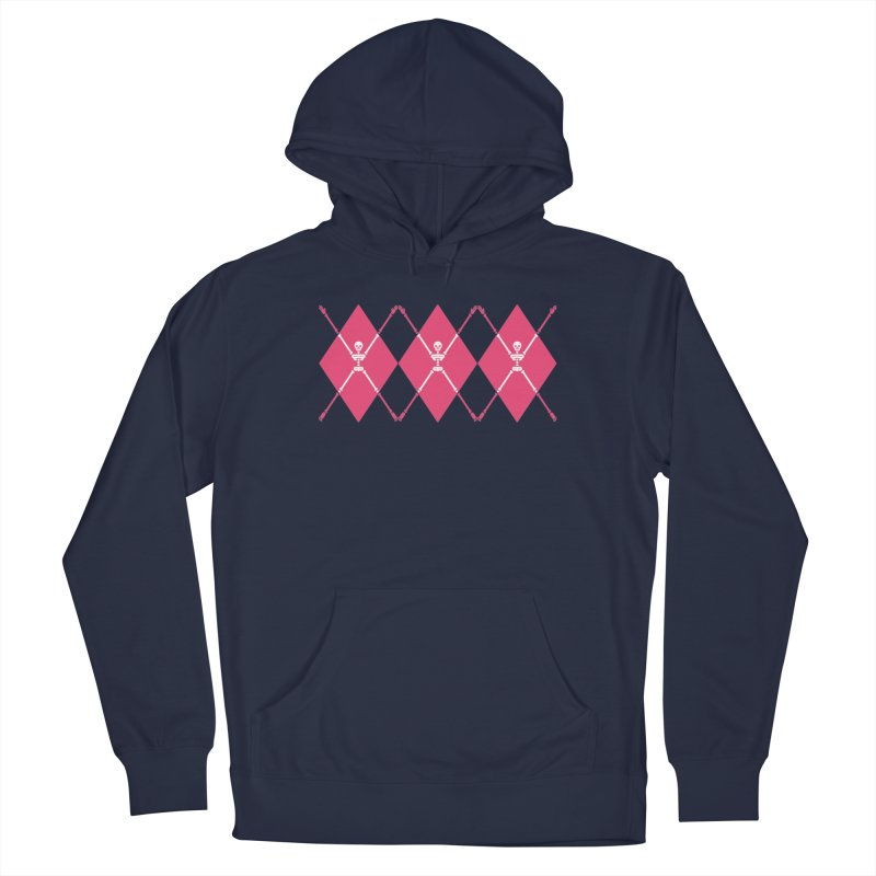 XXX-Ray - Pink Men's Pullover Hoody by Zhion T-Shop