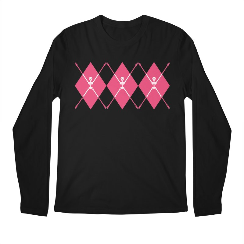 XXX-Ray - Pink Men's Regular Longsleeve T-Shirt by Zhion T-Shop