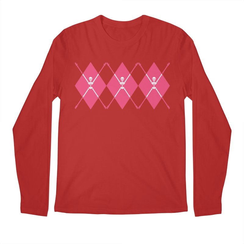 XXX-Ray - Pink Men's Longsleeve T-Shirt by Zhion T-Shop