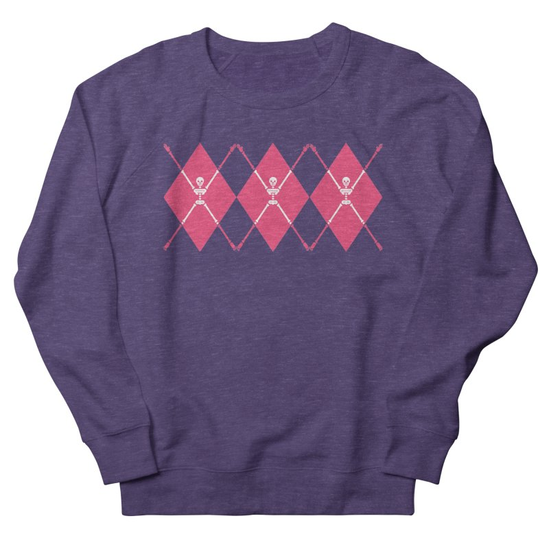 XXX-Ray - Pink Women's French Terry Sweatshirt by Zhion T-Shop