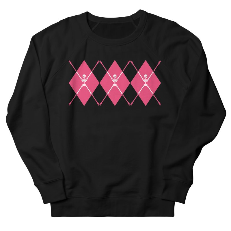 XXX-Ray - Pink Men's French Terry Sweatshirt by Zhion T-Shop