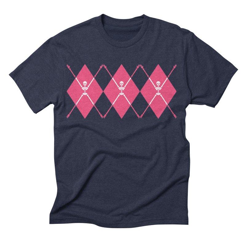 XXX-Ray - Pink Men's Triblend T-shirt by Zhion T-Shop