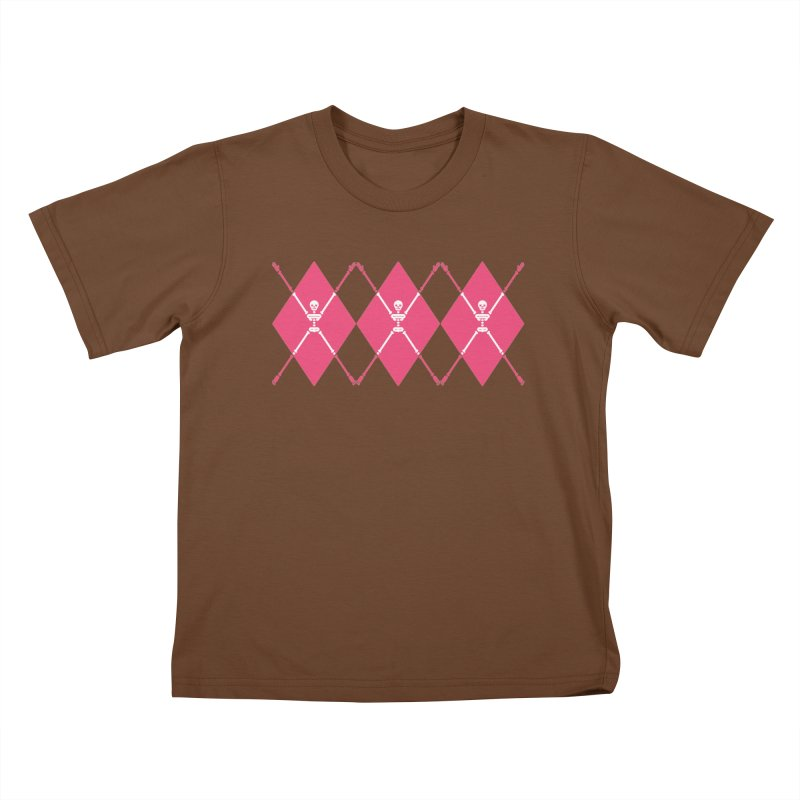 XXX-Ray - Pink Kids T-Shirt by Zhion T-Shop