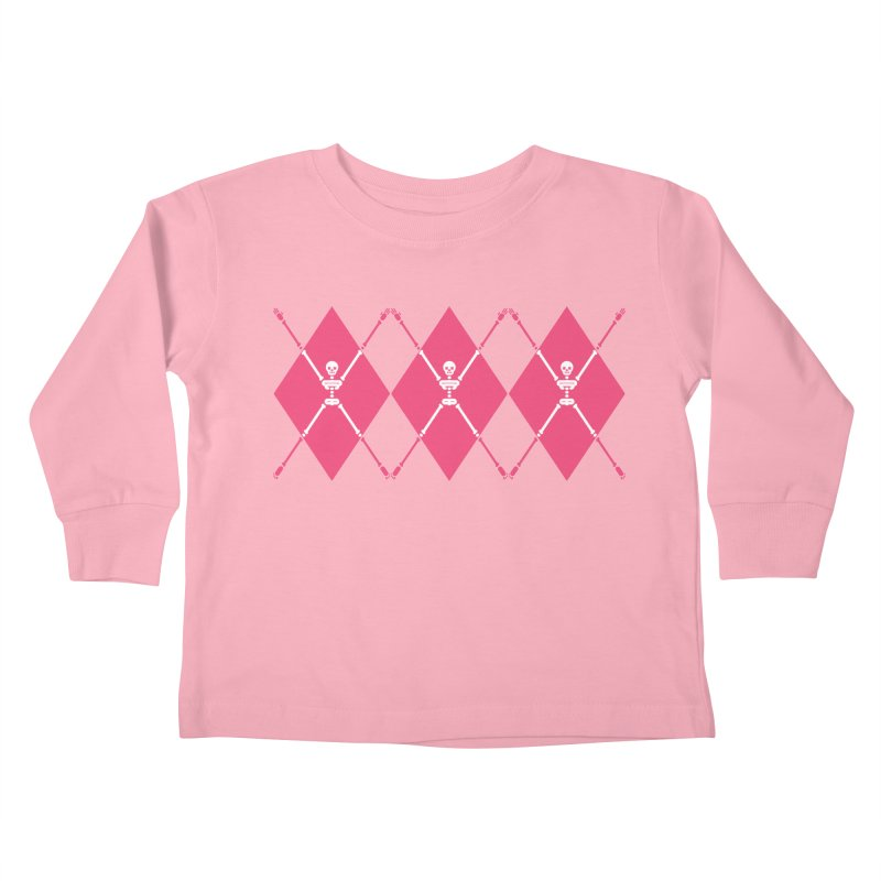 XXX-Ray - Pink Kids Toddler Longsleeve T-Shirt by Zhion T-Shop