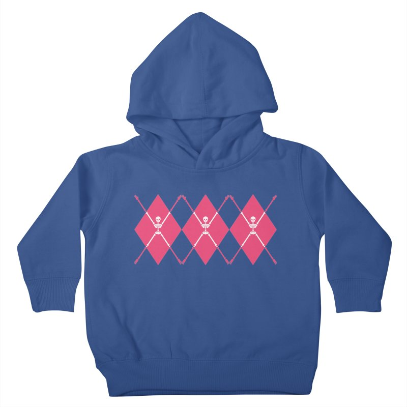 XXX-Ray - Pink Kids Toddler Pullover Hoody by Zhion T-Shop