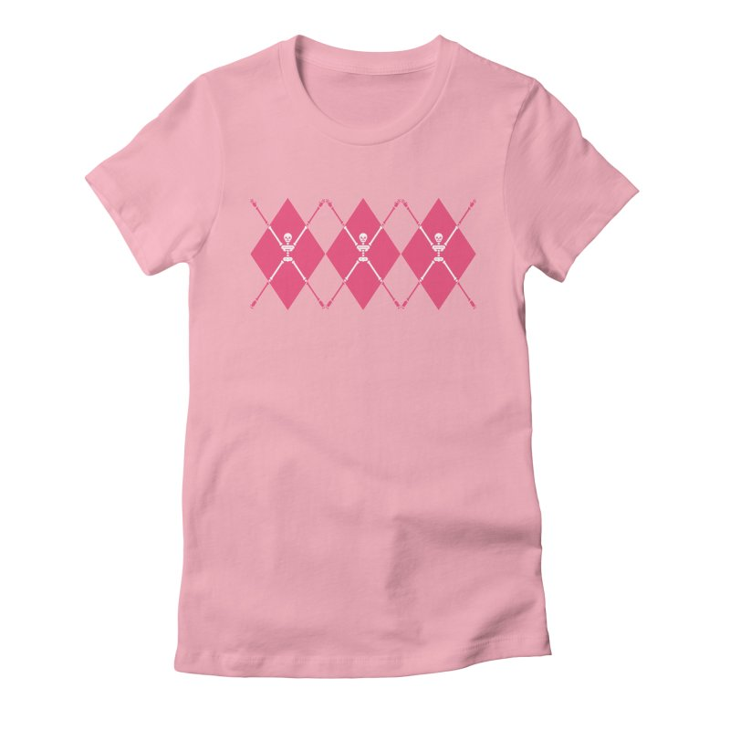 XXX-Ray - Pink Women's Fitted T-Shirt by Zhion T-Shop