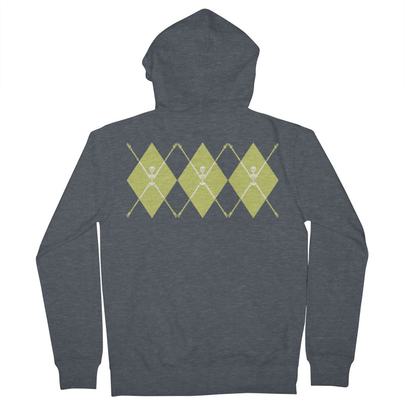 XXX-Ray - Lime Men's Zip-Up Hoody by Zhion T-Shop