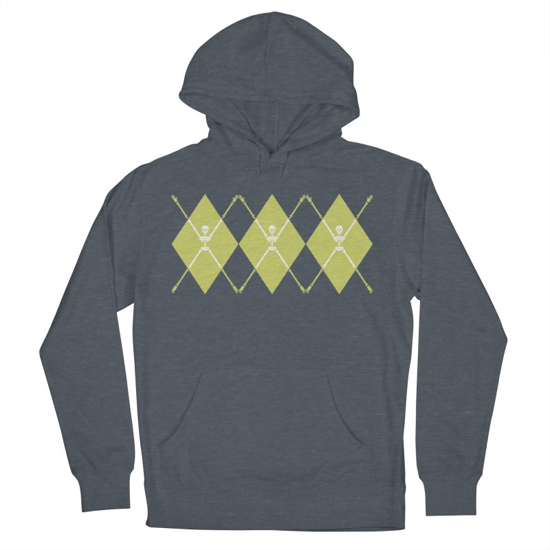XXX-Ray - Lime Men's French Terry Pullover Hoody by Zhion T-Shop