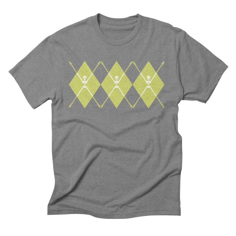 XXX-Ray - Lime Men's Triblend T-Shirt by Zhion T-Shop