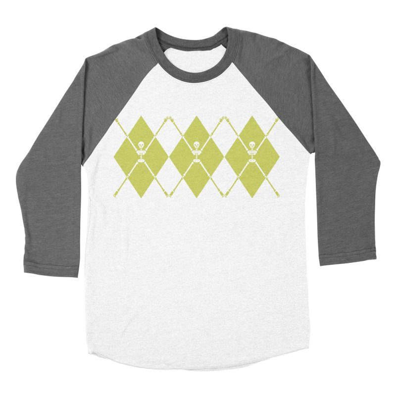 XXX-Ray - Lime Men's Baseball Triblend Longsleeve T-Shirt by Zhion T-Shop