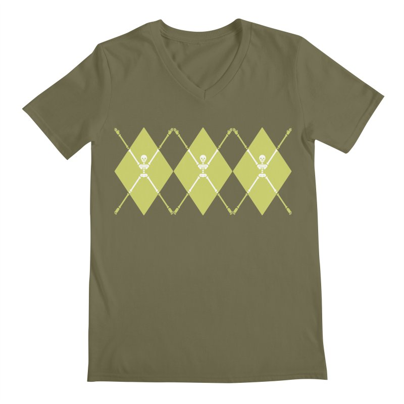 XXX-Ray - Lime Men's V-Neck by Zhion T-Shop