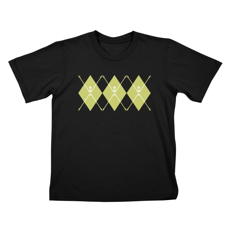 XXX-Ray - Lime Kids T-Shirt by Zhion T-Shop