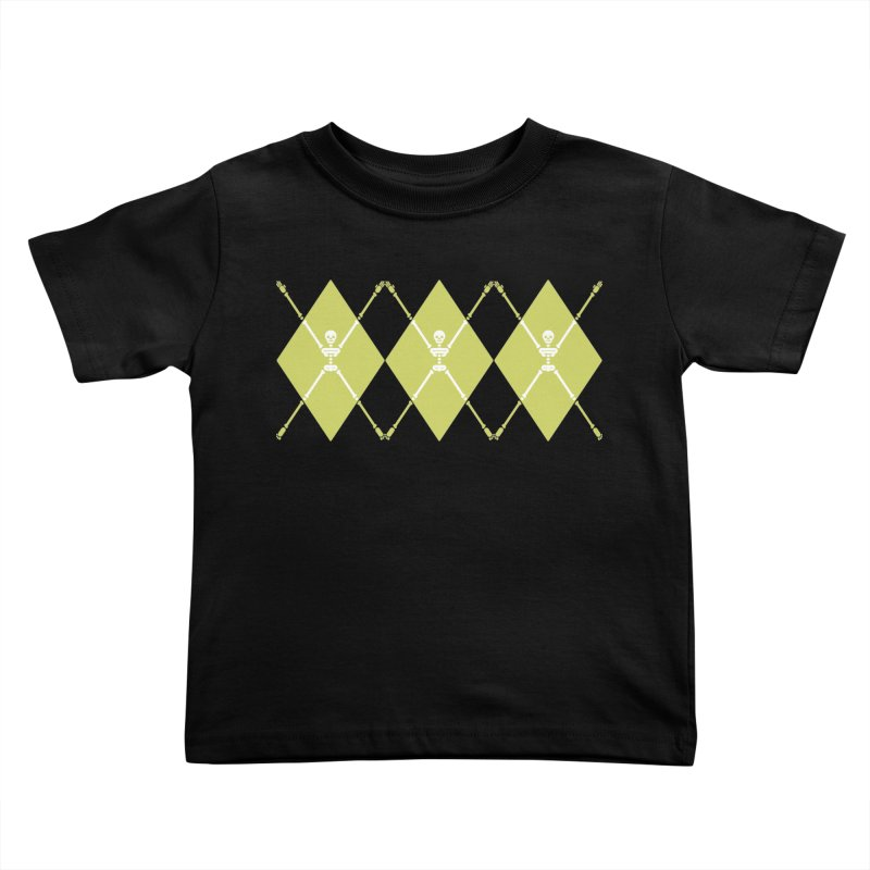 XXX-Ray - Lime Kids Toddler T-Shirt by Zhion T-Shop