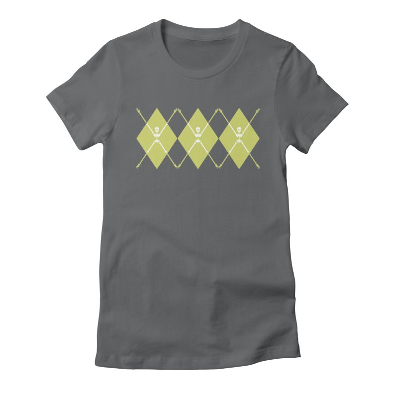 XXX-Ray - Lime Women's Fitted T-Shirt by Zhion T-Shop