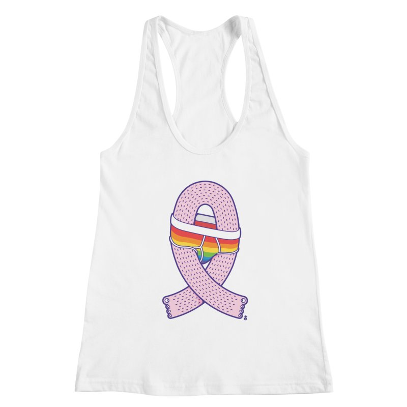 Hairy Pride Women's Racerback Tank by Zhion T-Shop