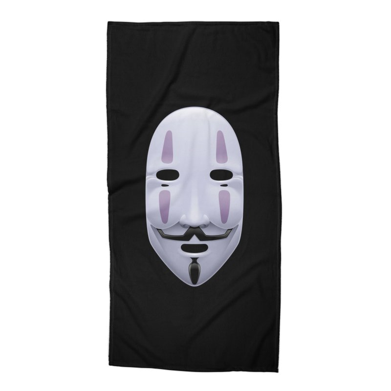 Absolutely Anonymous Accessories Beach Towel by Zhion T-Shop