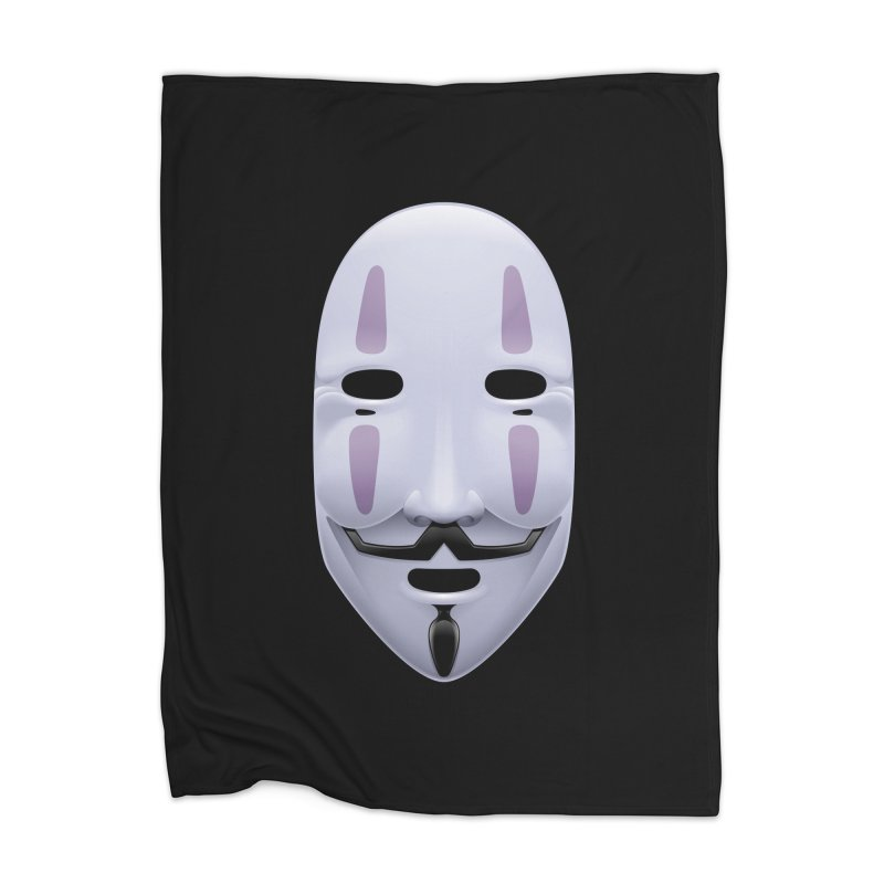 Absolutely Anonymous Home Blanket by Zhion T-Shop