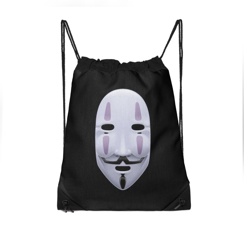 Absolutely Anonymous Accessories Drawstring Bag Bag by Zhion T-Shop