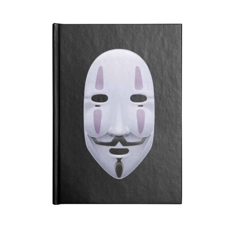 Absolutely Anonymous Accessories Notebook by Zhion T-Shop