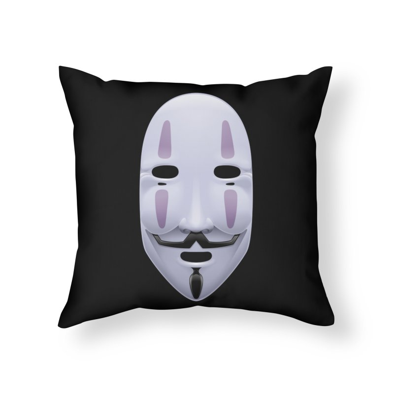 Absolutely Anonymous Home Throw Pillow by Zhion T-Shop