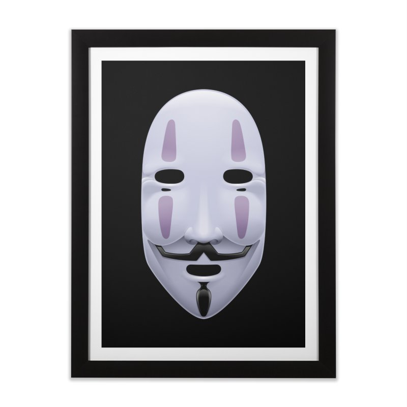 Absolutely Anonymous Home Framed Fine Art Print by Zhion T-Shop