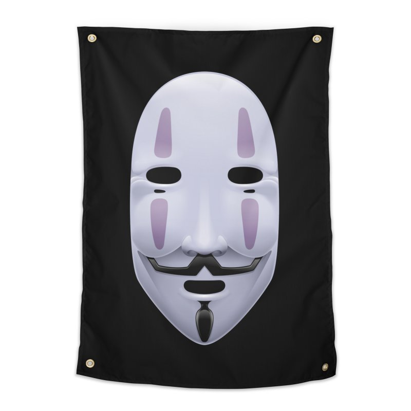 Absolutely Anonymous Home Tapestry by Zhion T-Shop
