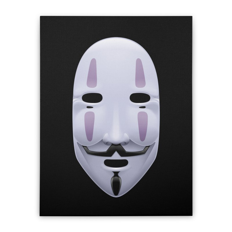 Absolutely Anonymous Home Stretched Canvas by Zhion T-Shop