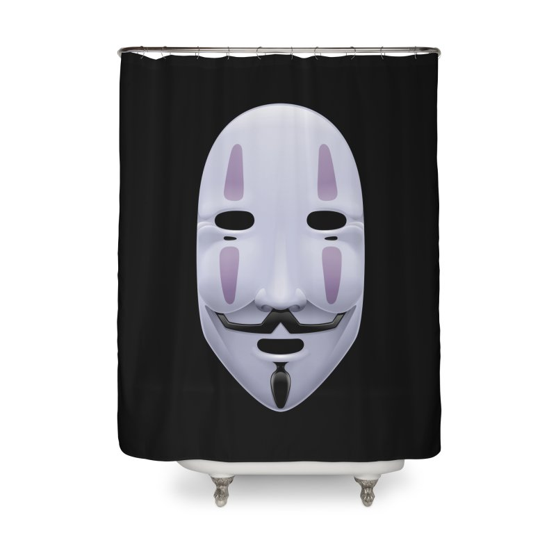 Absolutely Anonymous Home Shower Curtain by Zhion T-Shop