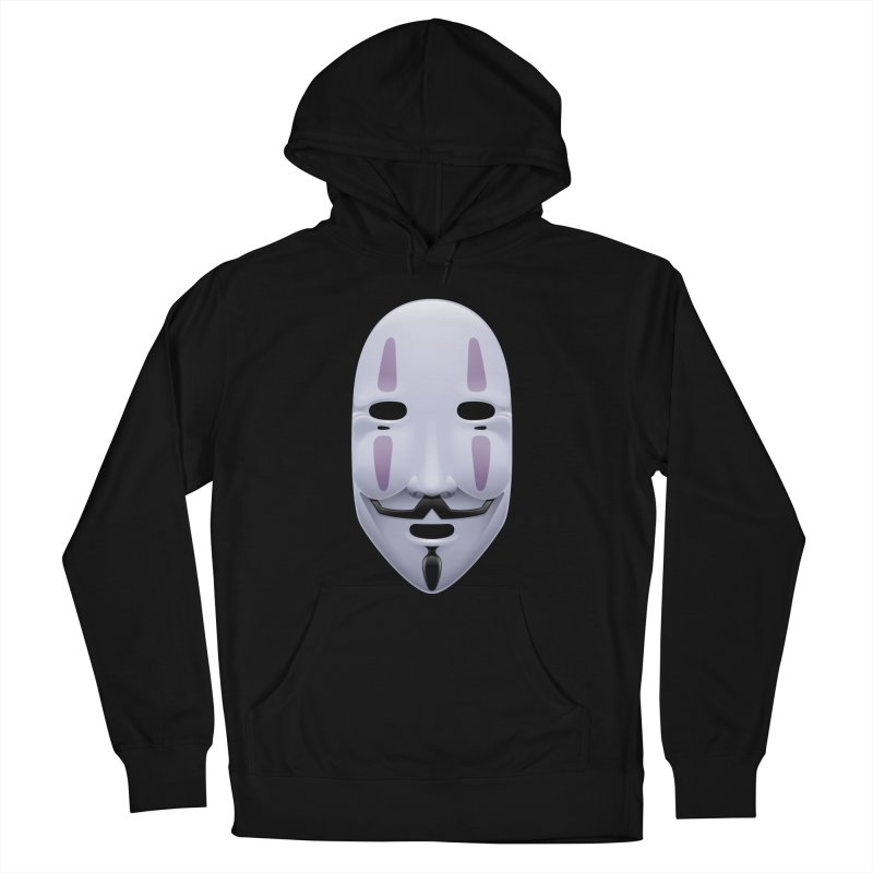 Absolutely Anonymous Women's French Terry Pullover Hoody by Zhion T-Shop