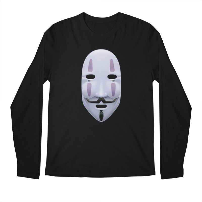 Absolutely Anonymous Men's Longsleeve T-Shirt by Zhion T-Shop