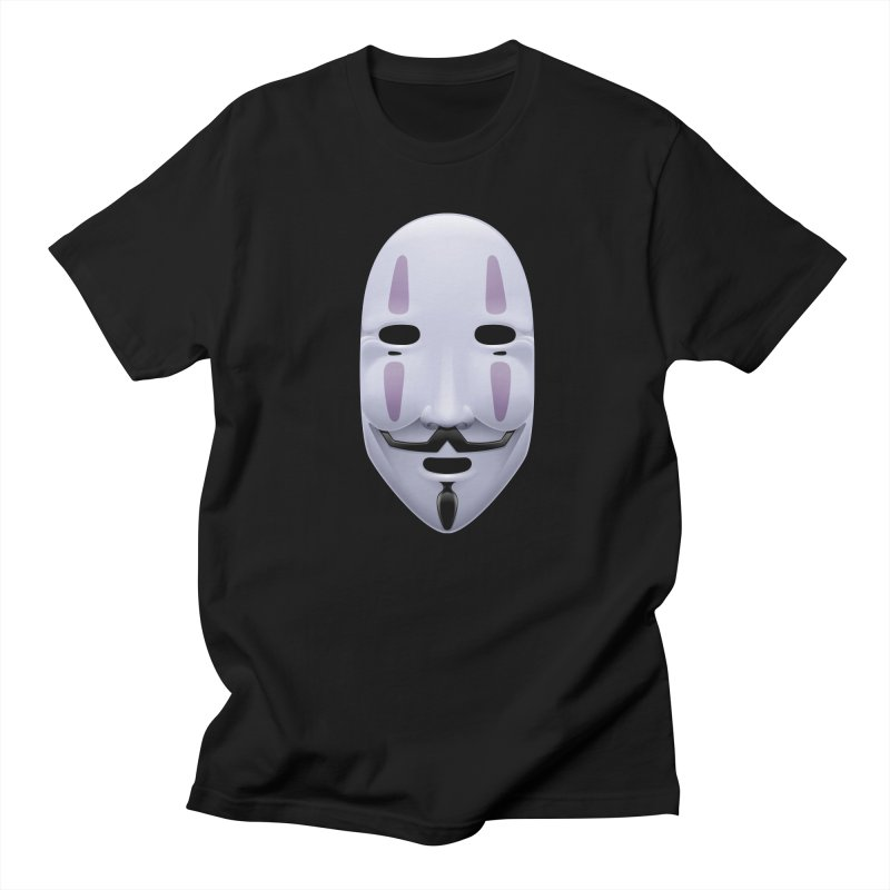 Absolutely Anonymous Men's Regular T-Shirt by Zhion T-Shop