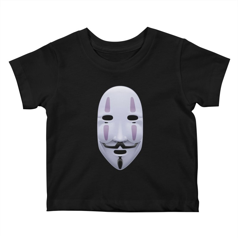 Absolutely Anonymous Kids Baby T-Shirt by Zhion T-Shop