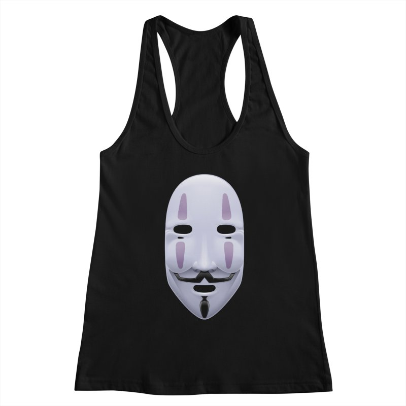 Absolutely Anonymous Women's Racerback Tank by Zhion T-Shop