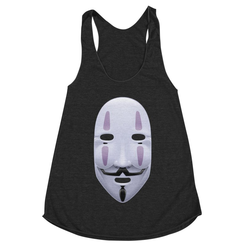 Absolutely Anonymous Women's Racerback Triblend Tank by Zhion T-Shop
