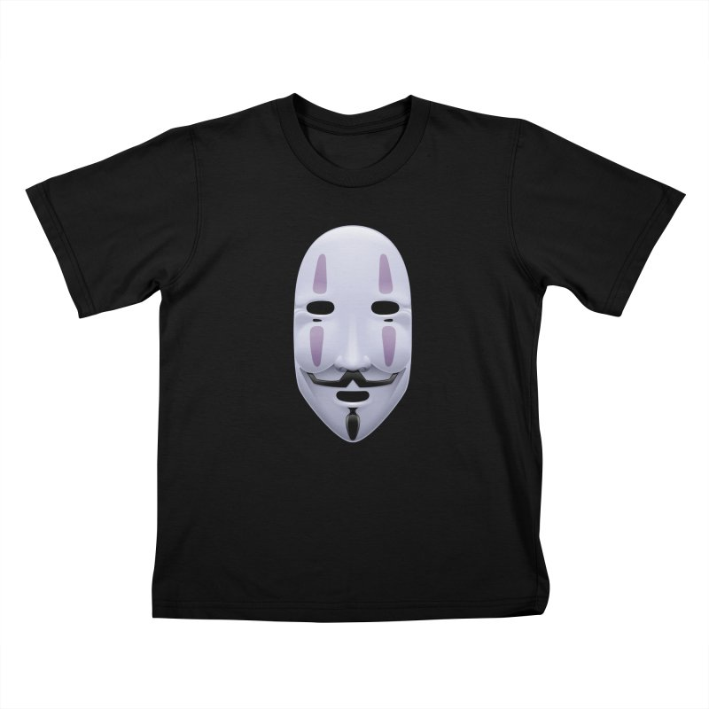 Absolutely Anonymous Kids T-Shirt by Zhion T-Shop