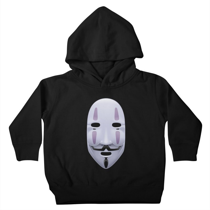 Absolutely Anonymous Kids Toddler Pullover Hoody by Zhion T-Shop