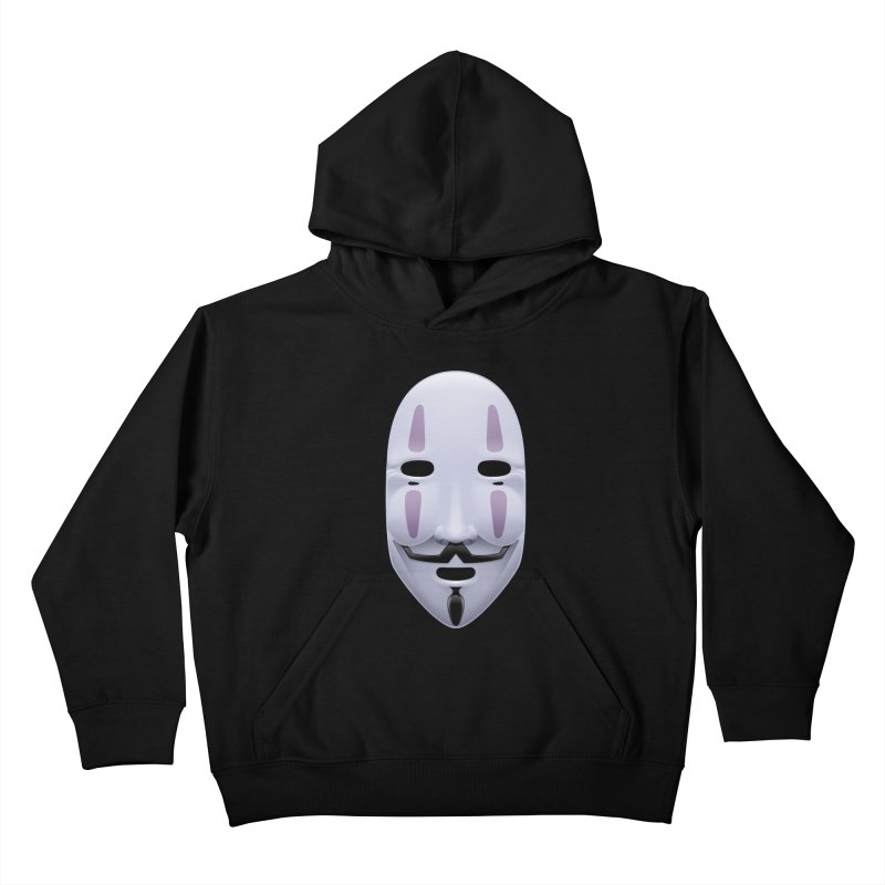 Absolutely Anonymous Kids Pullover Hoody by Zhion T-Shop
