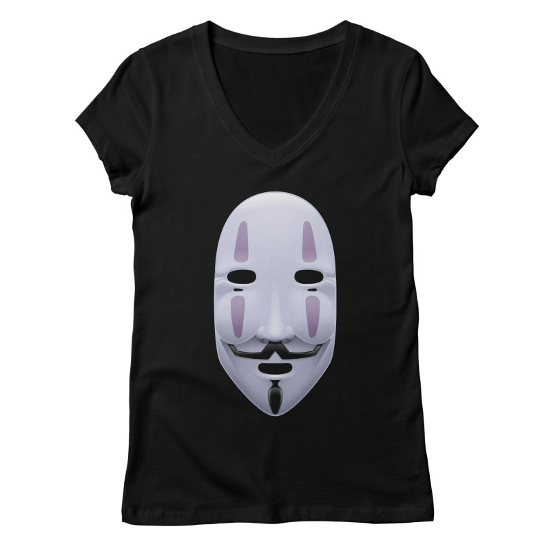 Absolutely Anonymous Women's V-Neck by Zhion T-Shop
