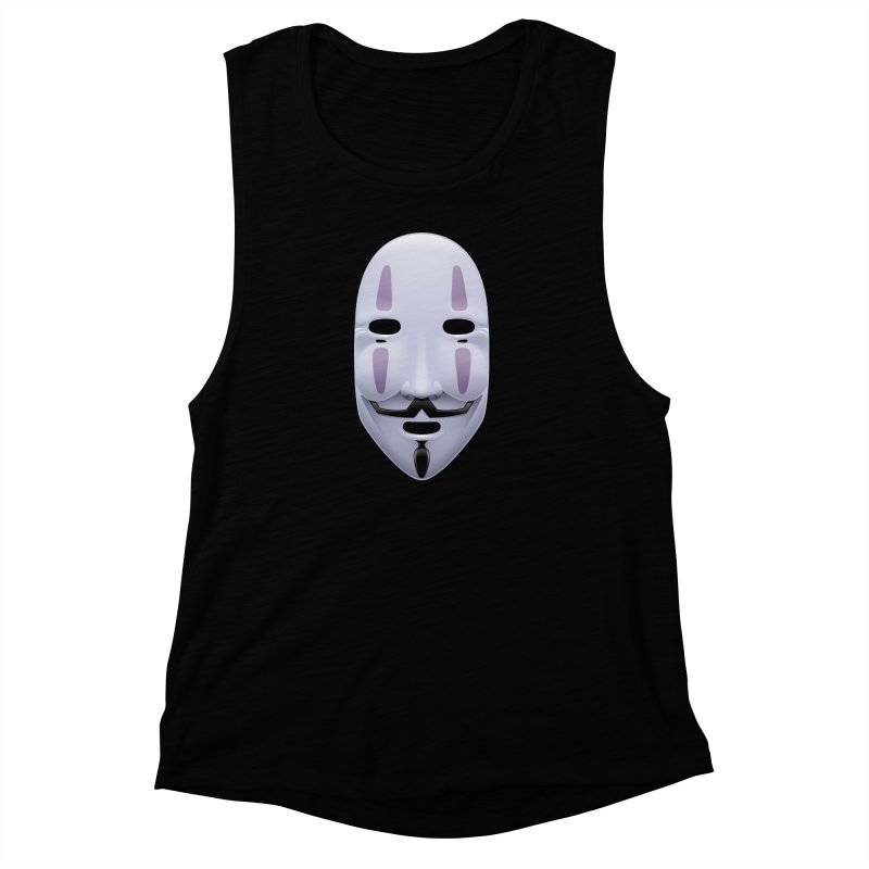 Absolutely Anonymous Women's Muscle Tank by Zhion T-Shop