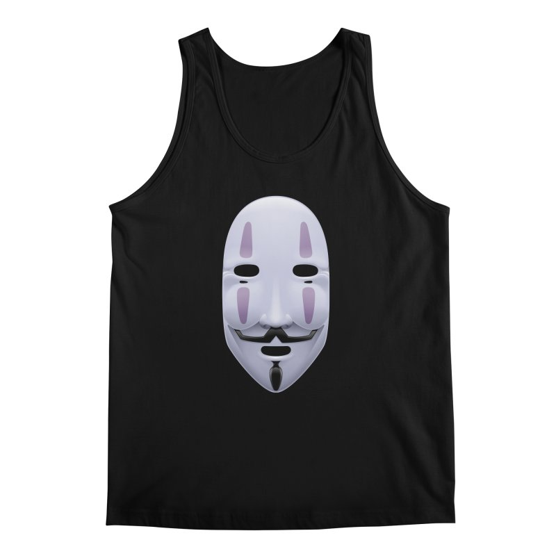 Absolutely Anonymous Men's Regular Tank by Zhion T-Shop