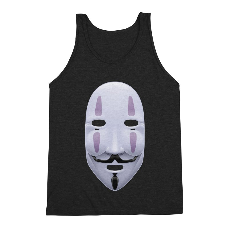 Absolutely Anonymous Men's Triblend Tank by Zhion T-Shop
